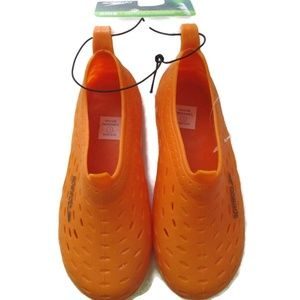 Speedo Toddler Boy's Orange Water Shoes L 9 10